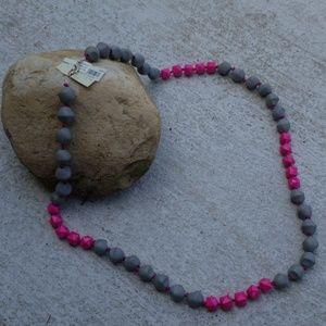 Macys women long necklace beaded